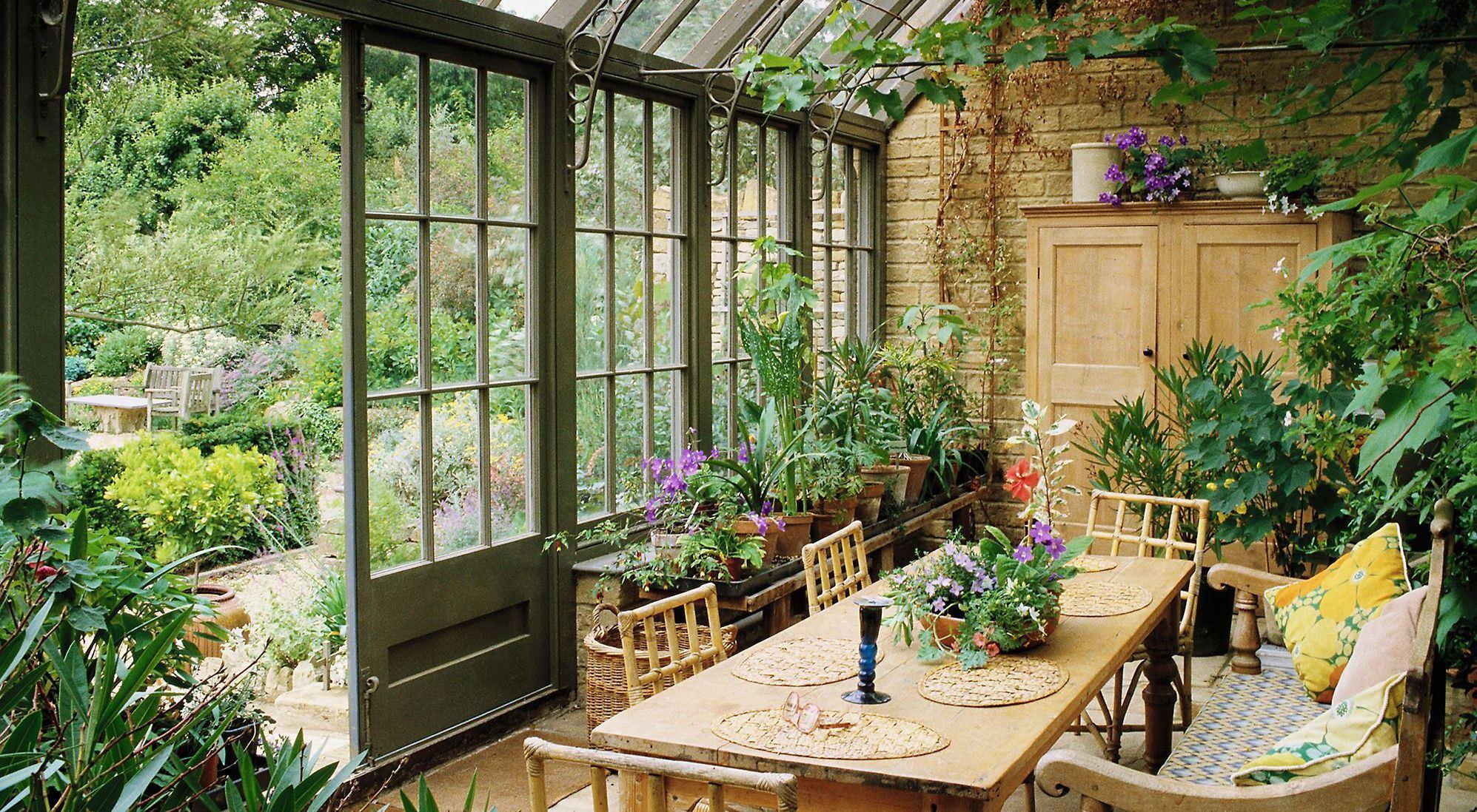 Prodlužte si léto v zimní zahradě