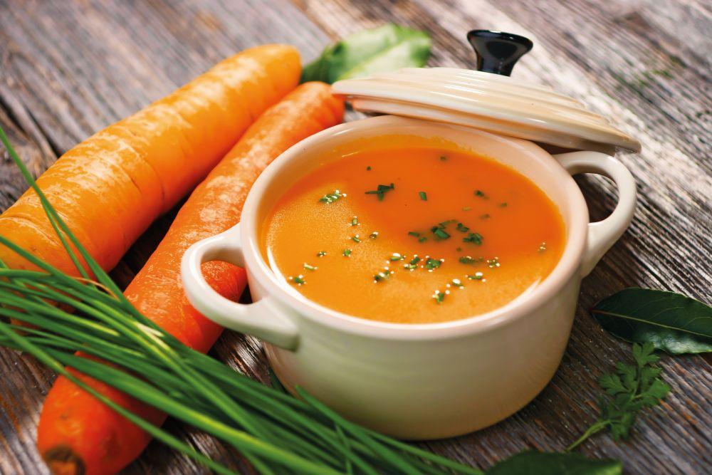 Rychlá mrkvová polévka